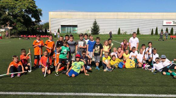 Pozemní hokejisti kategórie U10 s prvým tohtoročným víťazstvom!